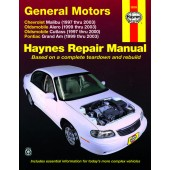 Haynes General Motors: Chevrolet Malibu, Oldsmobile Alero & Cutlass, and Pontiac Grand Am (97 - 03)