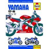 Haynes manual: Yamaha YZF-R6 (98-02)
