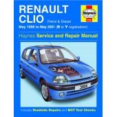 Haynes Renault Clio Petrol & Diesel (May 98 - May 01) R to Y