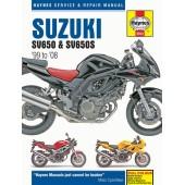 Haynes manual: Suzuki SV650 & SV650S (99-08)