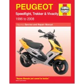 Haynes manual: Peugeot Speedfight, Trekker & Vivacity Scooters (96-08)