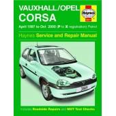 Haynes manual: Vauxhall/Opel Corsa Petrol (Apr 97-Oct 00) P to X