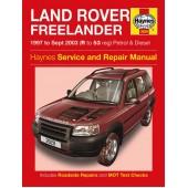 Haynes manual: Land Rover Freelander Petrol & Diesel (97 -Sept 03) R-53 reg.