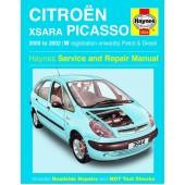 Haynes manual: Citroen Xsara Picasso Petrol & Diesel (00-02) W-52 reg.