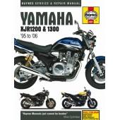 Haynes manual: Yamaha XJR1200 and XJR1300 (95-06)