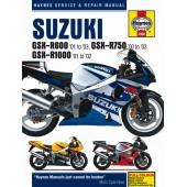 Haynes manual: Suzuki GSX-R600 (01-02), GSX-R750 (00-02) and GSX-R1000 (01-02)