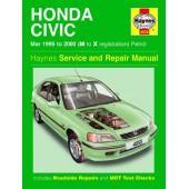Haynes manual: Honda Civic Petrol (Mar 95-00) M to X