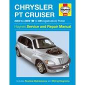 Haynes manual: Chrysler PT Cruiser (00-09) W to 09