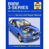 Haynes manual: BMW 3-Series Petrol (Sept 98-03) S-reg. onwards
