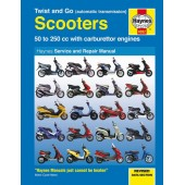 Haynes Twist and Go (automatic transmission) Scooters Service and Repair Manual