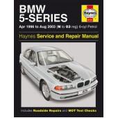 Haynes manual: BMW 5-Series 6-cyl Petrol (April 96-Aug 03) N to 03