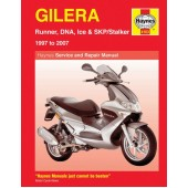 Haynes Gilera Runner, DNA, Ice & SKP/Stalker ('97 to '11)