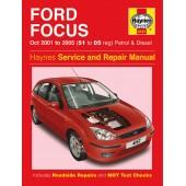Haynes Ford Focus Petrol & Diesel (Oct 01 - 05) 51 to 05