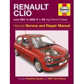 Haynes Renault Clio Petrol & Diesel (June '01 - '05) Y to 55