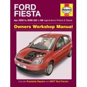 Haynes Ford Fiesta Petrol & Diesel (Apr 02 - 08) 02 to 58
