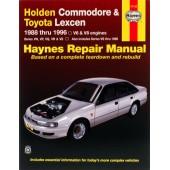 Haynes Holden Commodore & Toyota Lexcen (88 - 96)
