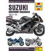 Haynes manual: Suzuki GSX1300R Hayabusa (99-04)
