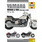 Haynes manual: Yamaha XVS650 & 1100 Drag Star/V-Star (97-05)