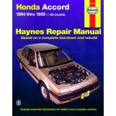 Haynes Honda Accord (84 - 89)