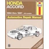Haynes Honda Accord (94 - 97)