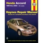 Haynes Honda Accord (98 - 02)
