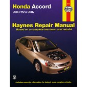 Haynes Honda Accord 2003-11 second edition