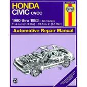 Haynes Honda Civic 1300 & 1500 CVCC (80 - 83)