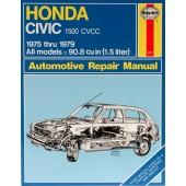 Haynes Honda Civic 1500 CVCC (75 - 79)