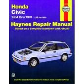 Haynes Honda Civic (84 - 91)
