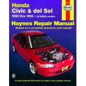 Haynes Honda Civic and del Sol (92 - 95)