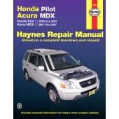 Haynes Honda Pilot & Acura MDX