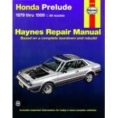 Haynes Honda Prelude CVCC (79 - 89)