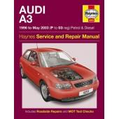 Haynes manual: Audi A3 Petrol & Diesel (96-May 03) P to 03