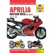 Haynes manual: Aprilia RSV1000 Mille (98-03)