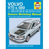 Haynes Volvo V70 & S80 Petrol & Diesel (98 - 07) S to 07