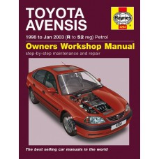 Haynes manual: Toyota Avensis 1998 to Jan 2003 (R to 52 reg) Petrol