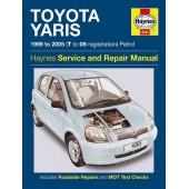 Haynes manual: Toyota Yaris Petrol (99-05) T to 05