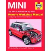 Haynes manual: Mini Petrol (July 2001-05) Y to 05 Reg