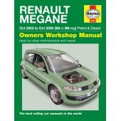 Haynes Renault Mégane (Oct 02 - Oct 08) 52 to 58