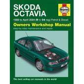Haynes manual: Skoda Octavia Petrol & Diesel (98-04) R to 04 reg