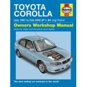 Haynes manual: Toyota Corolla Petrol (June 97-01) P TO 51