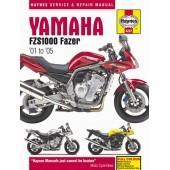 Haynes manual: Yamaha Fazer FZS1000 2001-2005