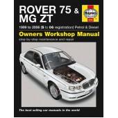 Haynes manual: Rover 75/MG ZT, Feb 1999 to 2006 (S to 06 reg) Petrol & Diesel