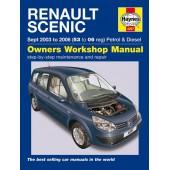 Haynes manual: Renault Scenic Petrol & Diesel 03-06 (53 to 06 reg)