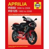Haynes manual: Aprilia RS50 (99-05) & RS125 (93-05)