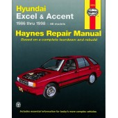 Haynes manual: Hyundai Excel and Accent (86-98)