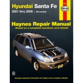 Haynes manual: Hyundai Santa Fe (01-March 06) (USA)