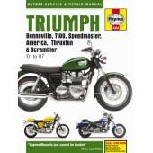 Haynes manual: Triumph Bonneville (01-07)