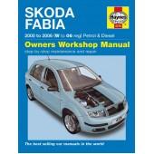 Haynes manual: Skoda Fabia 2000 to 2006 (W to 06 reg) Petrol & Diesel