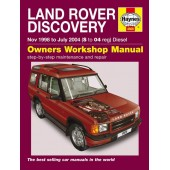 Haynes manual: Land Rover Discovery Diesel (Nov 98-Jul 04) S to 04